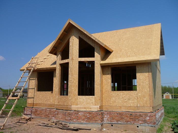 Дома из осб панелей проекты